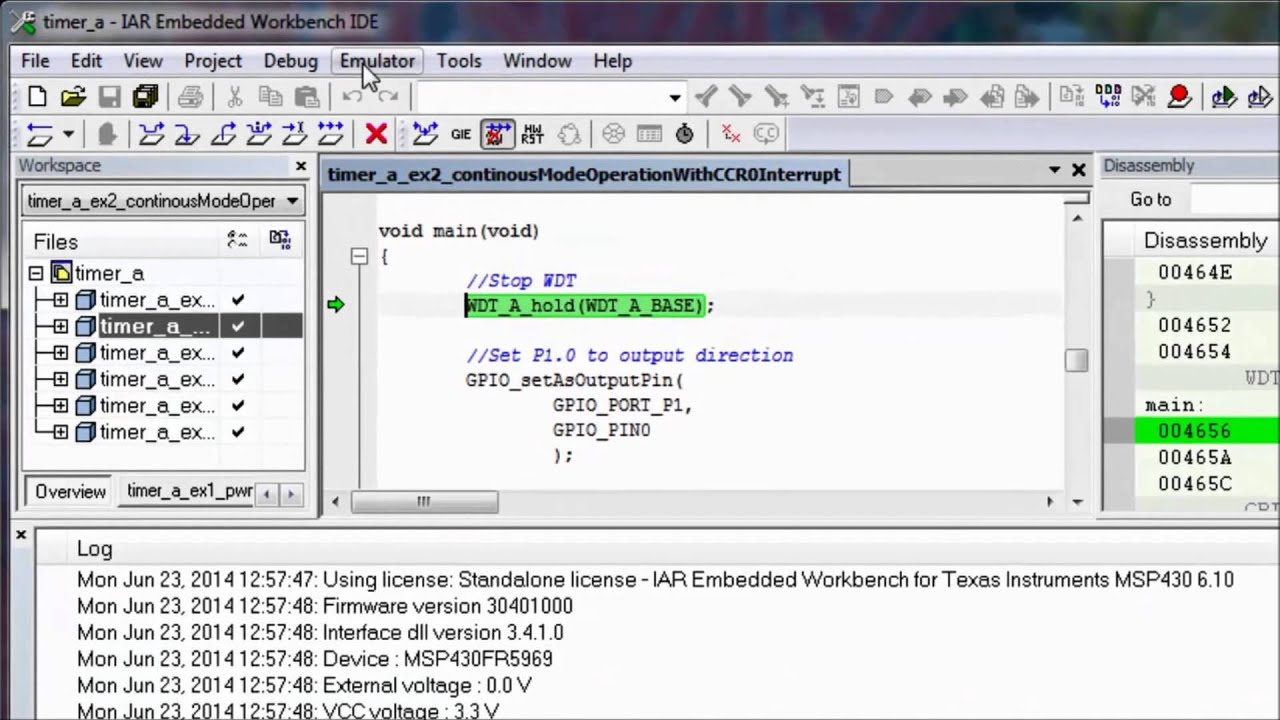 iar embedded workbench msp430 free