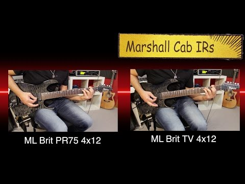 Tracking Rhythm Guitars - ML Brit Collection Cab Pack