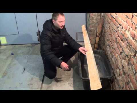 видео: Пол в моем гараже. Стяжка своими руками