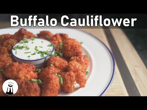 Buffalo Cauliflower, Low-Carb/Keto/Gluten-Free | Black Tie Kitchen