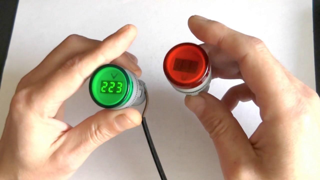 Нашёл недорогие вольтметры на 220 вольт и амперметры, в корпусе