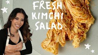 Fresh Kimchi Salad - Geotejori…