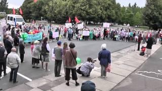 Митинг в поддержку Киришского хлебозавода 18.07.2013