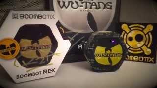 dirtyCrates.com Wu-Tang Boombot REX Boombotix Review