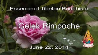 Gelek Rimpoche - Personal Instructions from Buddha - Essence of Tibetan Buddhism 52