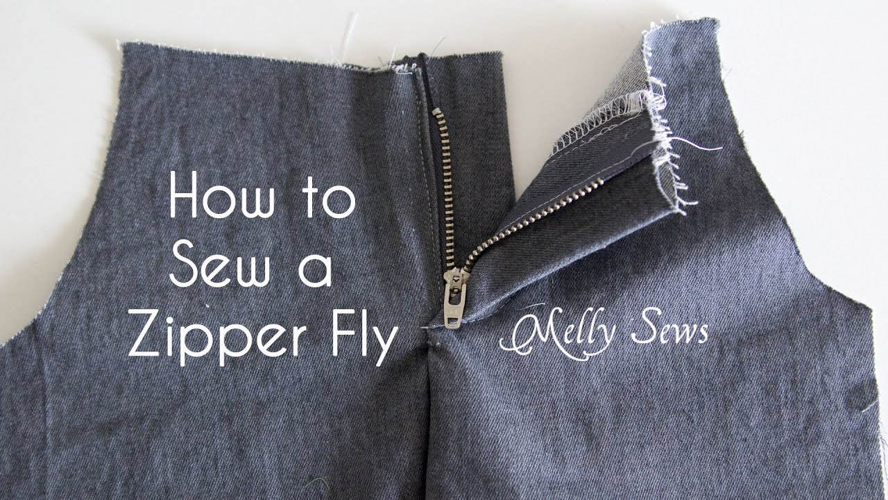 Wat Is Topic What Is A Mock Fly Zipper Sewing Discussion Topic