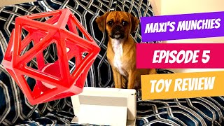 Maxi's Munchies, Episode 5 Toy Review #Pugalier #OneBite #DogReview #ToyTesting