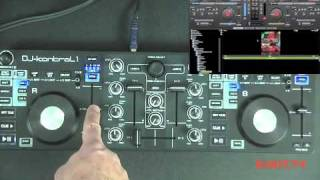 DJKit.tv review of JB Systems DJ Kontrol 1 DJ Controller