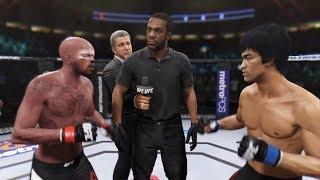 Bad Cat vs. Bruce Lee (EA Sports UFC 2) - CPU vs. CPU