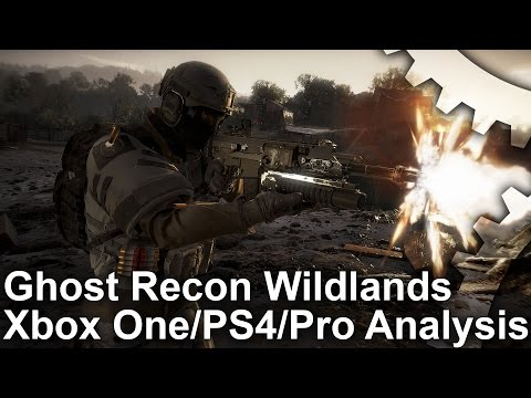Ghost Recon Wildlands Beta PS4/Xbox One/PS4 Pro Gameplay Analysis