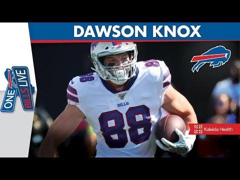 """The crowd was amazing""   Dawson Knox Joins One Bills Live"