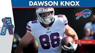 """The crowd was amazing"" | Dawson Knox Joins One Bills Live"