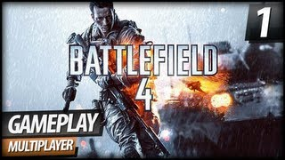 Battlefield 4 Multiplayer Gameplay - PART 1 | Shanghai