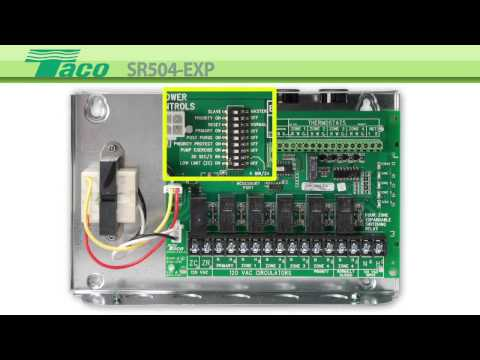 Enhanced Switching Relay SR504-EXP - YouTube