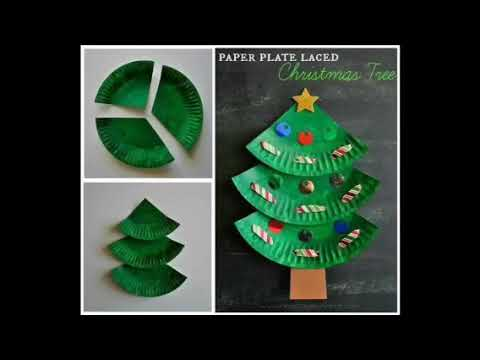 Christmas Arts And Craft Ideas For Children And Toddlers Youtube