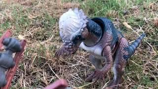 Jurassic Park Toy movie : journey to site B Part 2