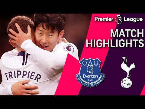 Everton v. Tottenham | PREMIER LEAGUE MATCH HIGHLIGHTS | 12/23/18 | NBC Sports