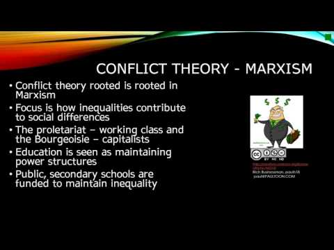 Functionalism and Conflict Theory - Education