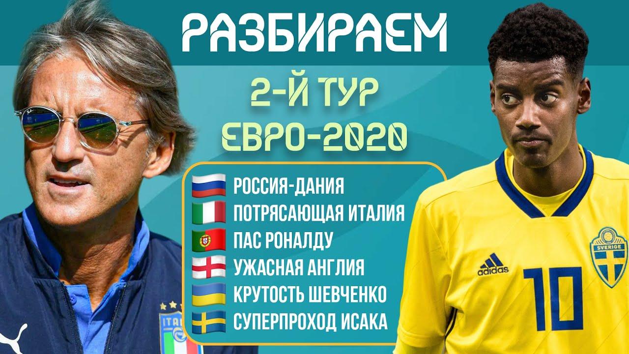 Разбираем итоги второго тура ЕВРО-2020 | МЯЧ Подкаст