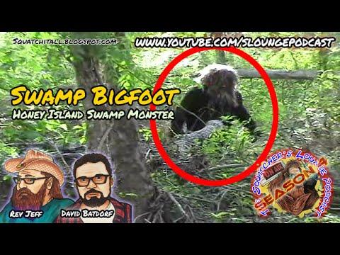 Swamp Bigfoot Captured on Film - SLP4-20