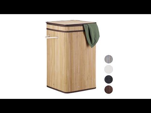 faltbarer-wäschekorb-bambus