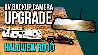 RV Back Up Camera UPGRADE // Haloview RD10 Install & Review
