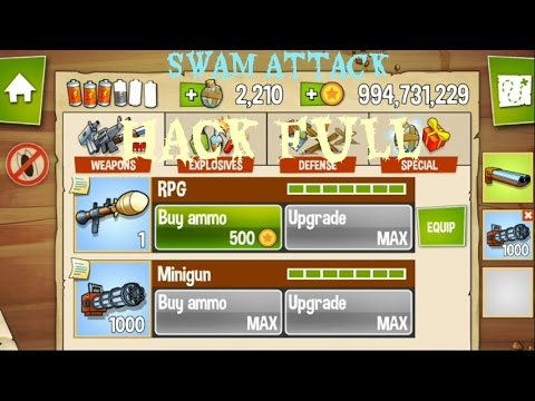 [Game Ofline] Hack Swamp Attack Cực Dễ Cho Android