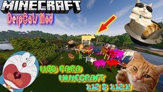 MOD para minecraft 1.12 & 1.12.1! GATOS MUY MOLESTOS! DerpCats Mod!