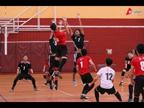 Volleyball National 'A' Division 2015 Semi-Finals
