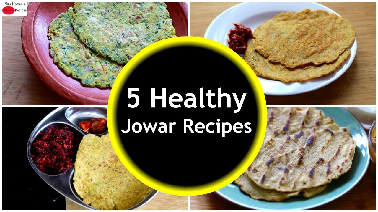 5 Healthy Jowar Recipes For Weight Loss  – Millet Recipes   Skinny Recipes
