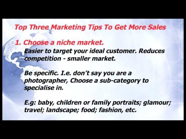 Top 3 Marketing Tips To Get More Sales - Marketing On A Budget episode 9