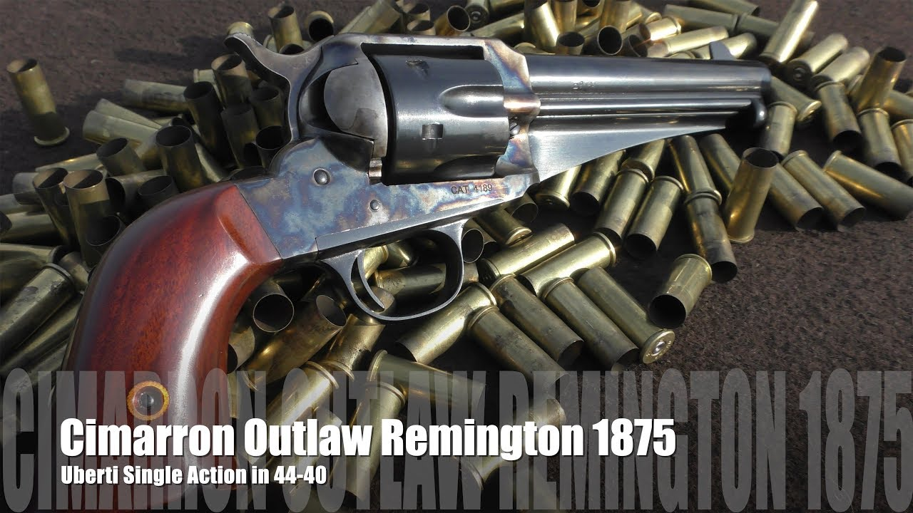 Cimarron Outlaw - Remington 1875 44-40