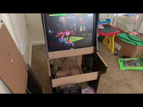 Arcade1UP Killer Instinct Real Authentic Board Mod Part 1