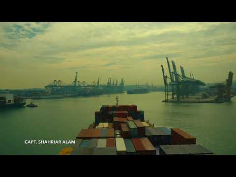 PORT OF SINGAPORE (ARRIVED AND DEPARTED BY SHIP)