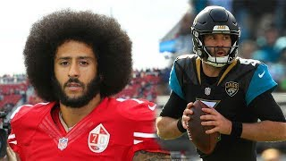 "Why Is Colin Kaepernick Not In the NFL? The List Of ""THE WORST"" NFL BACK UP Quarterbacks!"