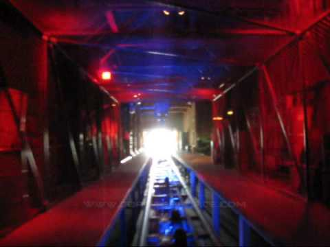 blue fire Megacoaster Front Seat on-ride POV Europa Park, Germany
