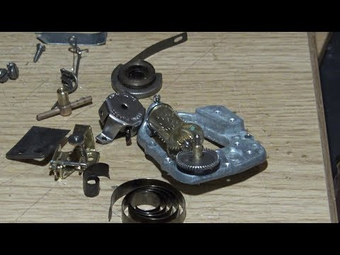 Replacing The Mainspring In A Music Box