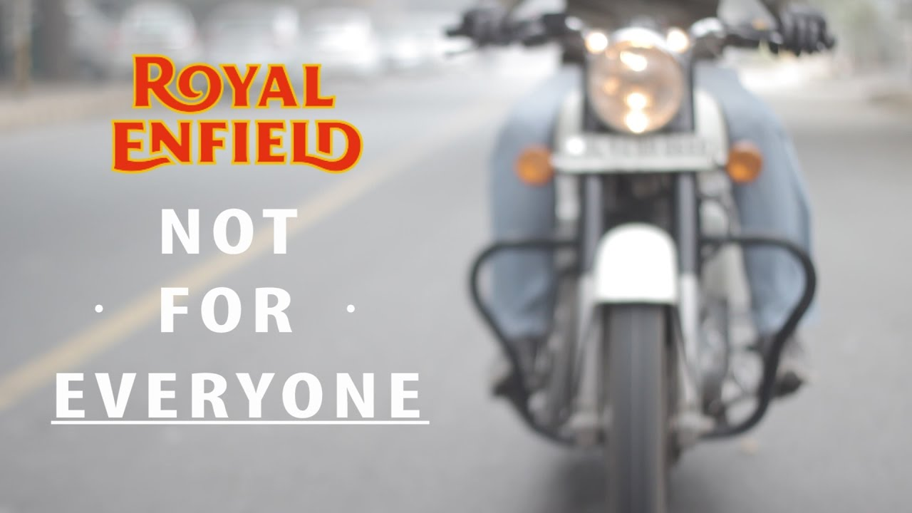 Should you buy a Royal Enfield ? - YouTube