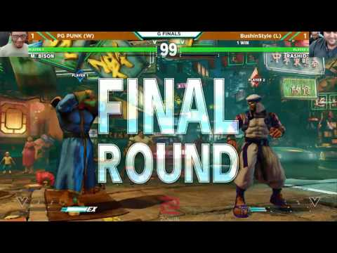 DKC 2017 SFV - Grand Final - PG Punk (M. Bison) vs BushinSty
