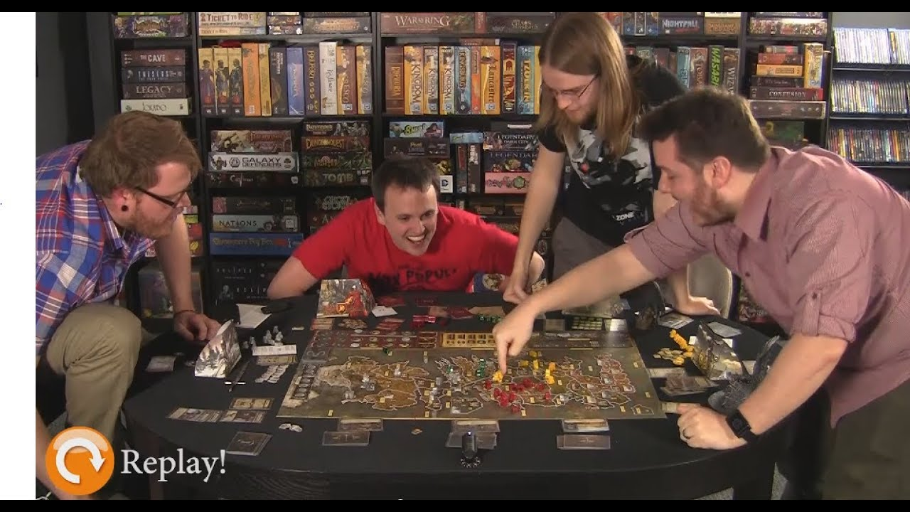Playing tabletop games - A Game Of Thrones A Feast For Crows Exp Gameplay Discussion Youtube