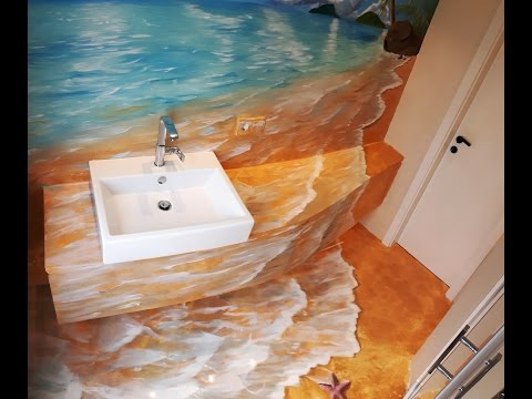 Beach Murals  Wall Murals of Tropical Beach Scenes