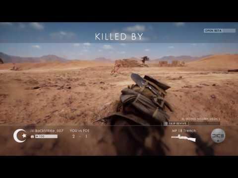 Battlefield 1 Open Beta: Destroying the arch on Sinai Desert + Beta battle bits