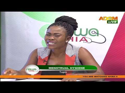 Menstrual Hygiene - Nkwa Hia on Adom TV (1-6-20)