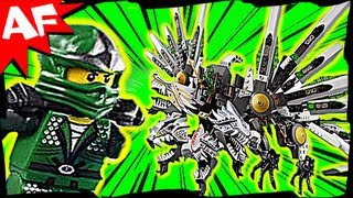 EPIC DRAGON Battle & GREEN NINJA 9450 Lego Ninjago Animated Short & Speed Build