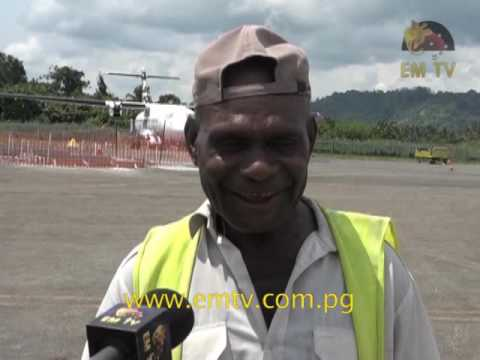 Vanimo Welcomes PNG Air ATR