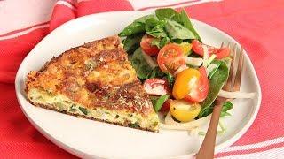 Oven Zucchini Frittata Recipe   Episode 1256