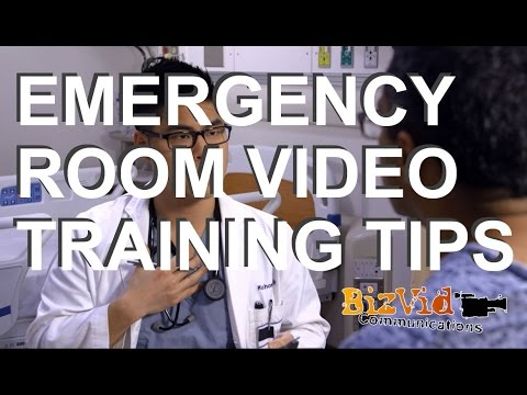 Medical Emergency Room Training Tips
