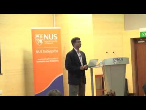 Innovation & Entrepreneurship Seminar: Amit Jain, CEO, Healt
