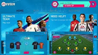 FIFA 19 Mobile Offline New Face+Kits & Update Transfer Best Graphics