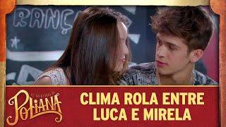 Clima rola entre Luca e Mirela As Aventuras de Poliana